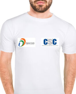 CSC Digital India T-Shirt Round Nick